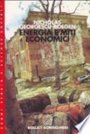Energia e miti economici