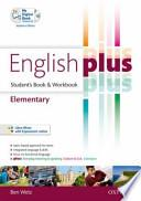 English plus. Elementary. Student's book-Workbook. Ediz. standard. Con espansione online. Con CD Audio. Per le Scuole superiori