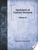 Epistolario di Guarino Veronese