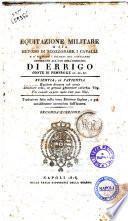 Equitazione militare o sia Metodo di scozzonare i cavalli e d'istruire i soldati nel cavalcare destinato all'uso dell'esercito di Errigo conte di Pembroke ...