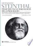 Ermeneutica e psicologia del linguaggio