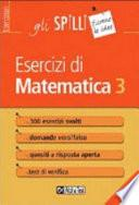 Esercizi di matematica 3