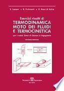 Esercizi risolti di Termodinamica Moto dei fluidi e Termocinetica
