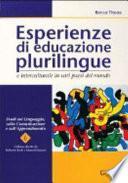 Esperienze di educazione plurilingue e interculturale in vari paesi del mondo