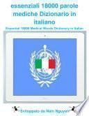essenziali 18000 parole mediche Dizionario in italiano