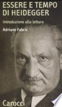 Essere e tempo di Heidegger