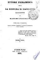 Ettore Fieramosca, ossia, La disfida di Barletta racconto di Massimo d'Azeglio