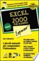 Excel 2000 per Windows for dummies espresso