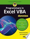 Excel VBA For Dummies