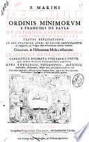 F. Marini Mersenni ordinis minorum S. Francisci de Paula Quaestiones celeberrimae in Genesim, cum accurata textus explicatione. In hoc volumine athei, et deistae impugnantur, & expurguntur, & vulgata editio ab haereticorum calumnijs vindicantur. Graecorum, & Hebraeorum musica instauratur. Francisci Georgii Veneti cabalistica dogmata fuse refelluntur, quae passim in illius problematibus habentur. ... Cum indice quadruplici ..