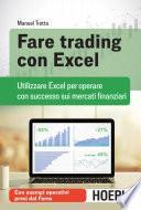 Fare trading con excel