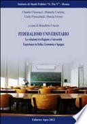Federalismo universitario