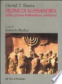 Filone di Alessandria nella prima letteratura cristiana