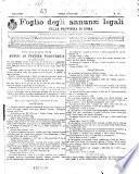 Foglio degli annunzi legali della provincia di Roma