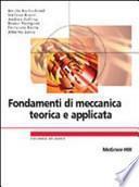 Fondamenti di meccanica teorica e applicata