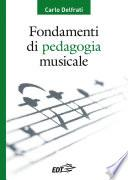 Fondamenti di pedagogia musicale