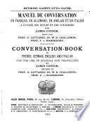 Französisch-deutsch-englisch-italienisches Konversationsbüchlein zum Gebrauche in Schulen und auf Reisen