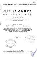 Fundamenta Mathematicae