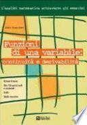 Funzioni di una variabile: continuità e derivabilità