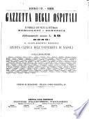 Gazzetta degli ospitali officiale per la pubblicazione degli atti del Consiglio degli Istituti ospitalieri di Milano