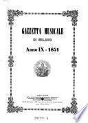 Gazzetta musicale di Milano