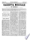 Gazzetta musicale di Napoli