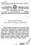 Gazzetta ufficiale della Repubblica italiana. Parte prima, serie generale