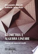 Geometria e Algebra Lineare