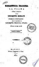 Geometria pratica la piana di Giuseppe Rosati