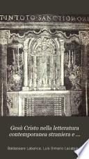 Gesù Cristo nella letteratura contemporanea straniera e italiana
