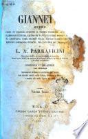 Giannetto opera che in Firenze ottenne il premio promesso al più bel libro di lettura ad uso de' fanciulli e del popolo ... di L. A. Parravicini