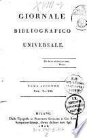 Giornale bibliografico universale