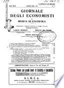 Giornale degli economisti e rivista di statistica