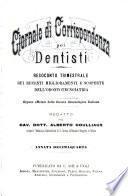 Giornale Di Corrispondenza Pei Dentisti