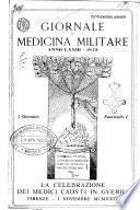 Giornale di medicina militare