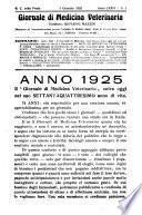 Giornale di medicina veterinaria ufficiale per gli atti della Stazione sperimentale di Torino per le malattie infettive del bestiame