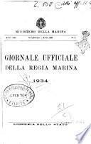 Giornale ufficiale della Regia Marina