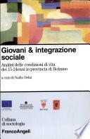 Giovani & integrazione sociale