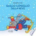 Giulio Coniglio sulla neve