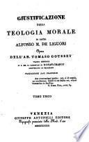 Giustificazione della teologia morale di S. Alfonso Maria de Liguori