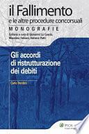 Gli accordi di ristrutturazione dei debiti