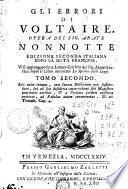 Gli Errori di Voltaire, 2