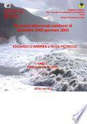 Gli eventi alluvionali calabresi di dicembre 2002-gennaio 2003