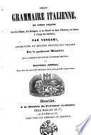 Grammaire italienne, en vingt leçons