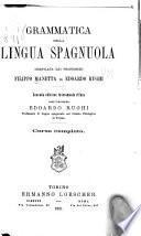 Grammatica della lingua spagnuola