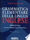 Grammatica elementare della lingua inglese