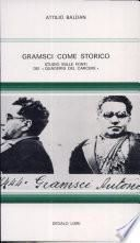 Gramsci come storico