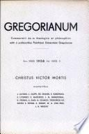 Gregorianum: Vol. 39, No. 2