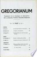 Gregorianum: Vol.41
