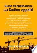 Guida all'applicazione del Codice appalti